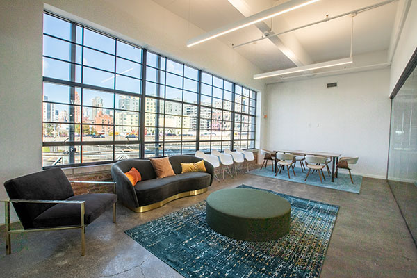 A creative conference room
