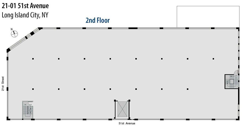 Open Floor Plan - second floor